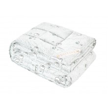 Одеяло DOTINEM MILDTON хлопковое полутороспальное 145х210 см (215440-1)