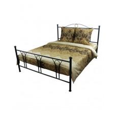 Комплект постельного белья РУНО сатин полуторный 143х215 (1.137К_3603 Beige Brown)