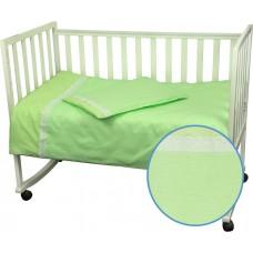 Комплект постельного белья РУНО бязь детский 112х147 (942КУ_Салатовий)