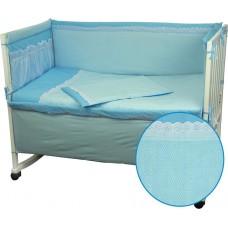Комплект детского постельного белья РУНО 60х120 (977КУ_Блакитний)