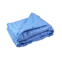 Одеяло РУНО 200х220 см (322.02ШУ_Blue)