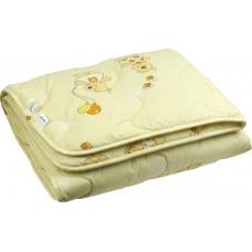 Одеяло Руно шерсть детское 105х140 см (320.02ШУ_бежевий)