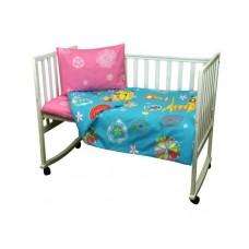 Комплект детского постельного белья РУНО 60х120 (932.116_Yellow cat)