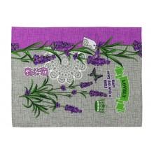 Вафельное полотенце кухонное РУНО 45х60 (205.15_Лаванда lovely)