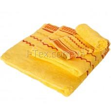 Комплект махровых полотенец УтТекс 3шт  30х50, 50х100, 70х140 см (22219)