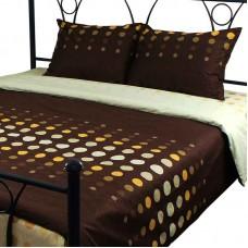Комплект постельного белья РУНО сатин полуторный 143х215 (1.137А_S27-3(A+B))