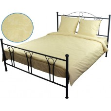 Комплект постельного белья РУНО бязь семейный 143х215 (6.114Б_Молочний)