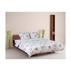 Комплект постельного белья ТЕП бязь полуторный 150х215 (961 Батерфляй)