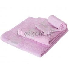 Комплект махровых полотенец УтТекс 3шт  30х50, 50х100, 70х140 см (22221)