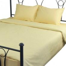 Комплект постельного белья РУНО сатин двуспальный 200х220 (655.50ДУ_Beige)