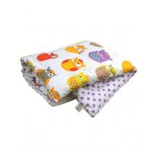 Одеяло РУНО детское 105х140 см (320.137Сови)
