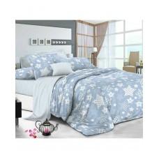 Комплект постельного белья РУНО бязь евро 205х225 (845.116_Blue star)