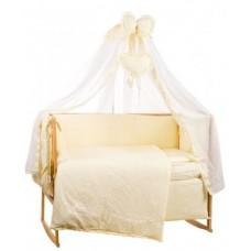 Комплект детского постельного белья Bepino Жаккард Рюша 95х145 (22223)