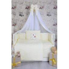 Комплект детского постельного белья Bepino Мишка со звездочкой 95х145 (ЖК08)
