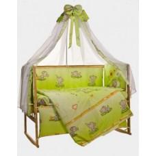 Детское постельное белье Bepino Слоник салатовый 95х145 (22230)