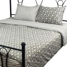 Комплект постельного белья РУНО микрофибра полуторный 143х215 (1.52Star_1)