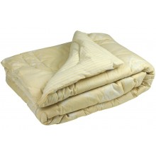 Одеяло Руно овечья шерсть молочное 172х205 см (316.116ШУ_Beige star)