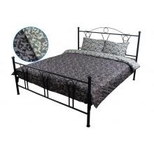 Комплект постельного белья РУНО бязь евро 205х225 (845.114Г_40-0567 Grey)