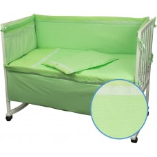 Комплект детского постельного белья РУНО 60х120 (977КУ_Салатовий)