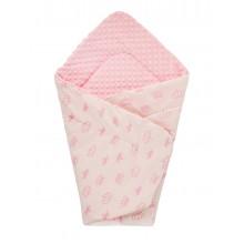 Конверт DOTINEM Minky плюшевый детский розовый 75х85 см (213145-1)