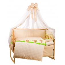 Комплект детского постельного белья Bepino Лесные звери 95х145 (01-ЛЗ-Б-580-Т2)