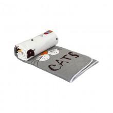Одеяло РУНО силиконовое дизайн 200х220 (322.137СЛК_My cat)