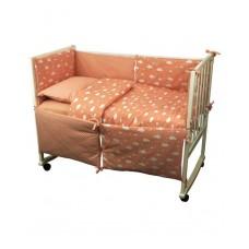 Комплект детского постельного белья РУНО 60х120 (977У_(Рожевий) хмарка)
