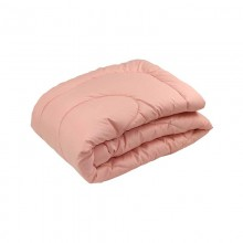 Одеяло РУНО силиконовое 200х220 (322.52СЛБ_Персиковий)