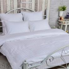 Комплект постельного белья РУНО сатин-страйп полуторный 143х215 (1.50ДУ_3х3)