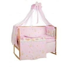 Комплект детского постельного белья Bepino Улыбка  95х145 (01-УЛ -Р-660-Т розовый)