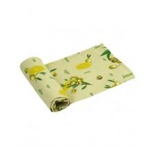 Вафельное полотенце кухонное РУНО 45х80 (202.15_Жовтий лимон)