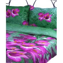 Комплект постельного белья РУНО сатин семейный 220х240 (6.137К_S-1414А+В)