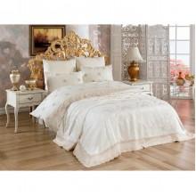 Комплект постельного белья Arya Evelina Larissa с кружевом евро 200х220см (TR1006887)
