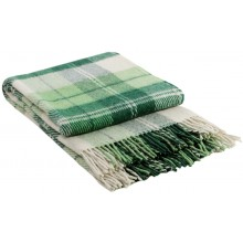 Плед VLADI Эльф бело-салатно-зеленый-2 140х200 см (220148)