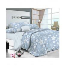 Комплект постельного белья РУНО бязь семейный 220х240 (6.116_Blue star)