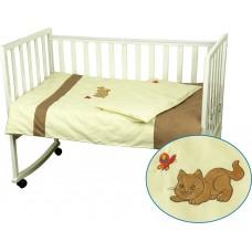 Комплект постельного белья РУНО бязь детский 112х147 (932Рижик)