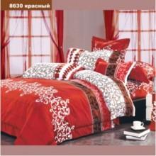 Комплект постельного белья Viluta ранфорс полуторный 143х210 (8630_красный)