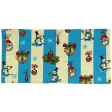 Вафельное полотенце кухонное РУНО 35х70 (217.15_NY блакитний)