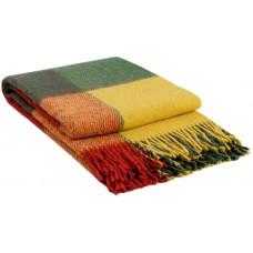 Плед VLADI Эльф желто-красно-зеленый-1 200х220 см (220211)