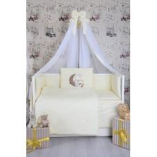 Комплект детского постельного белья Bepino Зайчик на месяце 95х145 (ЖК06)