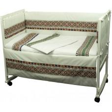 Комплект детского постельного белья РУНО 60х120 (977.02СУ_Зелений)