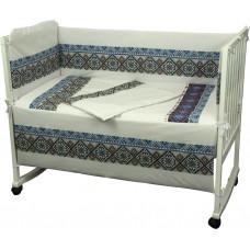 Комплект детского постельного белья РУНО 60х120 (977.02СУ_Блакитний)