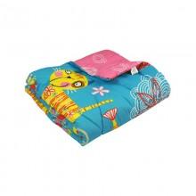 Одеяло РУНО детское 105х140 см (320.116ШК+У_Yellow cat)