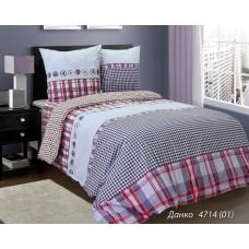 Комплект постельного белья РУНО бязь евро 205х225 (845.114БК_4714 Данко)