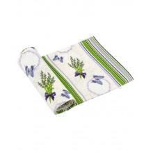 Вафельное полотенце кухонное РУНО 45х80 (202.15_Лаванда молочна)