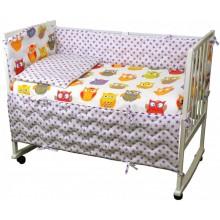 Комплект детского постельного белья РУНО 60х120 (977.137Сови)