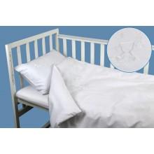 Комплект детского постельного белья РУНО сатин 60х120 (932.137ВУ_Ведмедик)
