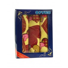 Набор вафельных полотенец РУНО 35х70 3 шт (707_Сердечко)