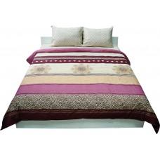 Комплект постельного белья РУНО сатин полуторный 143х215 (1.137К_40-0689bordo)