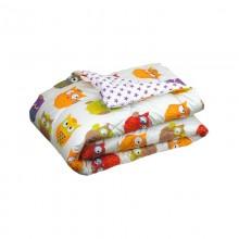 Одеяло РУНО Совы силикон 200х220 см (322.137Сови)